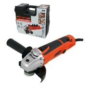 "HEAVY DUTY 850W 4.5"" 115MM ELECTRIC ANGLE GRINDER IN CASE AND 3 YEAR WARRANTY"