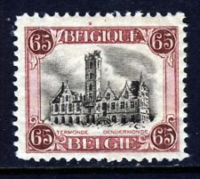 BELGIUM 1920 65 cents Second Printing Perf 11½  SG 308b MINT
