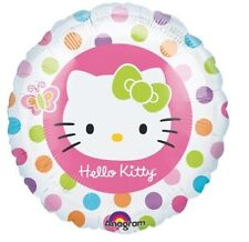 "5 X  HELLO KITTY Helium Foil Balloons 18"" Anagram. GIRLS PARTY DECORATIONS,"