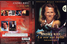 Dvd Andre Rieu La Vie Est Belle Life Is Beautiful Special Music Edition
