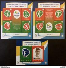 Guyana 2016** sh.1613,ss.1613,sh.1614 Olympic Games MNH [1;45,51,44]