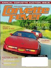 Corvette Fever Magazine Sept 2006 Issue Highly Modified '90 ZR-1 Cover