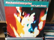 """mechanix enterprise - lets get down , excellent condition 12"""" vinyl"""