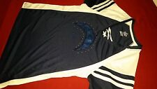 LA Chargers Football Gems & Sequins Shirt size Adult Women's 2XL XXL