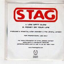 (FQ521) Stag, Low Watt Glow - DJ CD