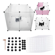Pet Dog Playpen Crate Fence 10 Panel Outdoor Home Cat Pig Puppy Safe For Pet