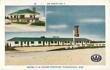 A View Of The Motel A La Claire Fontaine, Plessisville Pq Quebec Canada