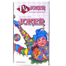 JOKER 1 1/4 (1.25) Rolling Papers 24 Booklets