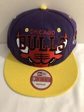 Chicago Bulls SnapBack Hat Cap NBA Michael Jordan The Last Dance Basketball Rare