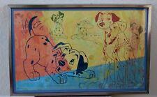 Disney All Stars Movie Resort Prop Rooms 101 Dalmatians Print Framed Image 2(#1)