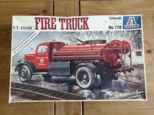 Italeri 778: Classic Fire Truck