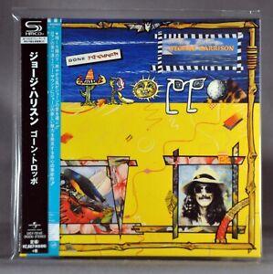 George HARRISON Gone Troppo Orig. 2017 JAPAN Mini LP SHM-CD UICY-78145 Sealed