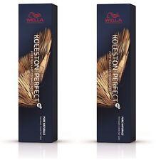 2x Wella Professionals Koleston Perfect Me+ Pure Naturals Hellblond 8/01 60 ml
