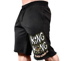 New Men's Monsta Clothing Fitness Gym Sweatshorts - King Kong