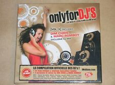 BOITIER 4 CD / ONLY FOR DJ'S VOL 5 / NEUF SOUS CELLO