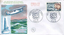 FRANCE FDC - 605 1523 2 AVION NUNGESSER ET COLI - 6 Mai 1967 - LUXE
