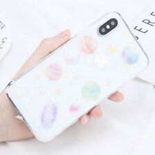 Shockproof Bling Star Clear Case Soft Rubber Cover For iPhone X 8 7 6S 6 Plus 5S
