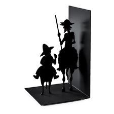 Fermalibri in metallo modello Don Quijote di Balvi colore nero