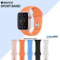 Apple Watch Band 🍎 Sport Band Fluoroelastomer Series 3 4 5 6 SE ⌚ 40mm 44mm