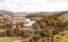 ARQ / Quinton # *1852 by J.Salmon. The Thames from Streatley Hill.