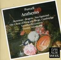Gustav Leonhardt & leonhardt-c - Purcell: Anthems NUEVO CD