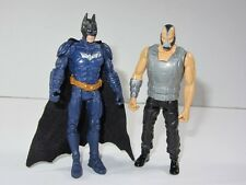 "DC Batman Il Cavaliere Oscuro Sorge MOVIE 3.75"" TOY FIGURE SET BATMAN VS BANE"