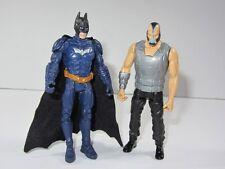 "DC  Batman 4"" Toy Figure Set  BLUE BATMAN vs BANE"