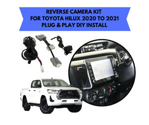Reverse Camera Kit for Toyota Hilux Factory Screen 2020 to 2021 SR Workmate & SR