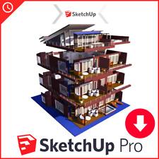 SketchUp Pro 3D Modeling l Full Version l Fast Delivery