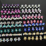 Lots 6-20Pc Women Graceful Mini Hair Claw Clips Clamps Grips Hair Accessories