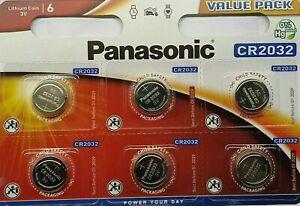 Panasonic CR2032 Batteries Lithium Battery 3V Button Coin Cell CR 2032 - Packs
