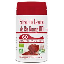 Levure de Riz Rouge 1.6% bio - 600 mg - 60 comprimés