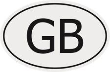 Aufkleber Autokennzeichen GB = Grossbritannien Autoaufkleber Sticker
