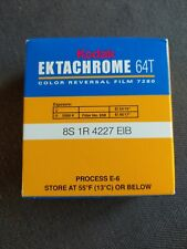 Kodak Ektachrome Super 8mmFilm 64T 7280 Color Reversal