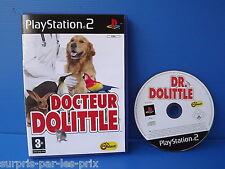 Docteur DOLITTLE - JEU PLAYSTATION 2 - PS2