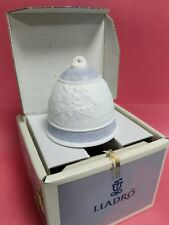 Lladro 1993 Porcelain Christmas Bell # 16010 New In Box