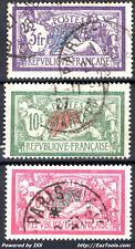 FRANCE SERIE MERSON N° 206/208 AVEC OBLITERATION