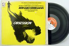 BERNARD HERRMANN: OBSESSION - SOUNDTRACK * NPO * UK * DECCA/LONDON SPC-21160 NM