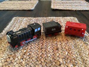 2013 Hiro Trackmaster Train Engine Motorized + Coal Tender Thomas & Friends