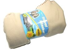 NEW SUPEREX TRAVEL BLANKET W/ CARRYING BAG 27-130