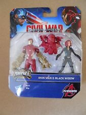 CIVIL WAR MARVEL HASBRO IRON MAN & BLACK WIDOW    [MV31]