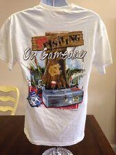 UNC North Carolina Tarheels No Fishing on Game Day XL Mens T-shirt NEW $20