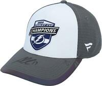 Alex Killorn Lightning Signed 2020 Stanley Cup Champions Locker Room Cap - LE 17