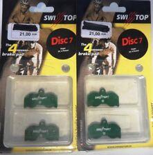 4 PLAQUETTES DE FREINS DISC 7 SWISSSTOP POUR HOPE XC 4 PISTON NEUF( disk brake )