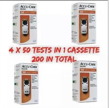 Accu-Chek Mobile Test Cassettes (4x50 = 200 tests) Long Expiry Dates