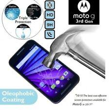 100% de vidrio templado genuino XT1541 protector de pantalla para Motorola Moto G 3rd Gen