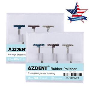 2x Dental RA Disc Composite Polishing Diamond System 14mm Wheel 6pcs/Set  AZDENT