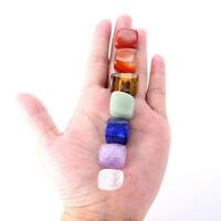 Chakra kit : Natural 7 Crystal Healing Tumbled Stones Set