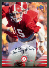 Tommy Wilcox #43 signed autograph auto 2012 Upper Deck Alabama Football Card