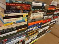 Lot of 20 Autobiography Biography Historical Memoir Books *RANDOM* UNSORTED MIX